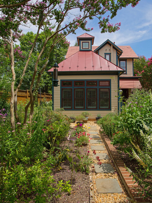 Traditional garden room with cupola for Victorian sunroom