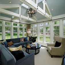Farmhouse Sunroom by gps designs . architecture