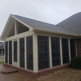 Example of an eclectic sunroom design in Indianapolis