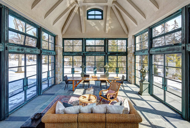 Traditional Sunroom by Young & Young Architects