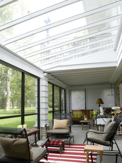 Glass Roof Panels Courtyard | Houzz