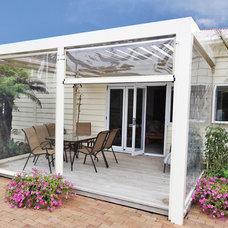 Modern Sunroom by Vanguard Blinds
