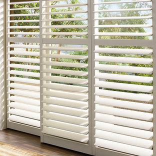 PATIO SUNROOM SHUTTERS -sliding glass door shutters