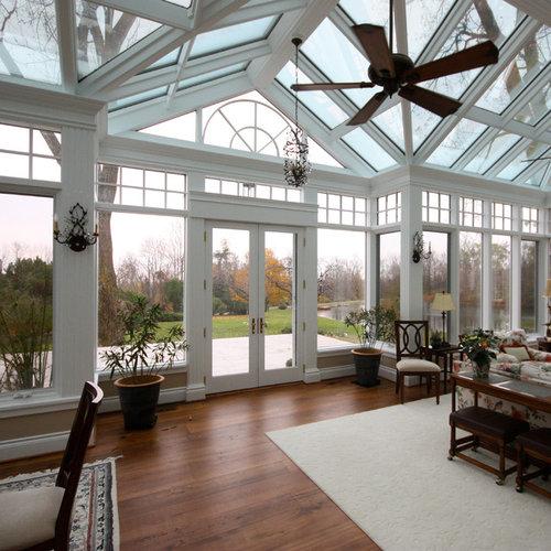 Rustic Toronto Sunroom Design Ideas Remodels Photos