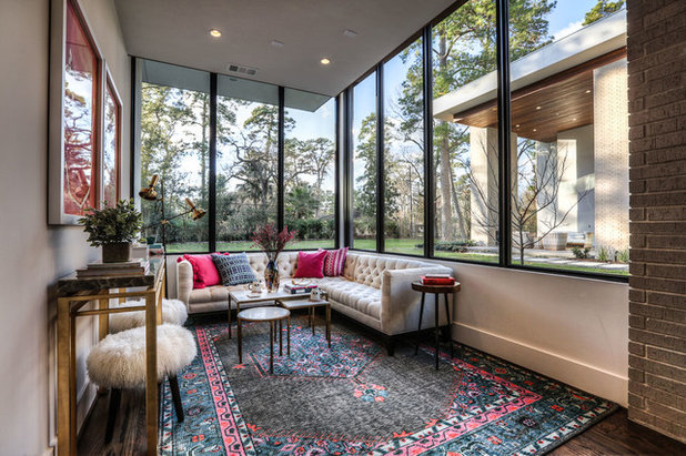 Contemporary Sunroom by On Point Custom Homes