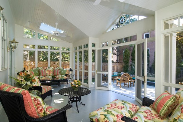 Traditional Sunroom by Anthony Wilder Design/Build, Inc.