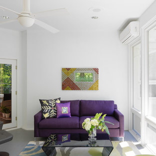 Pop of Color Sunroom
