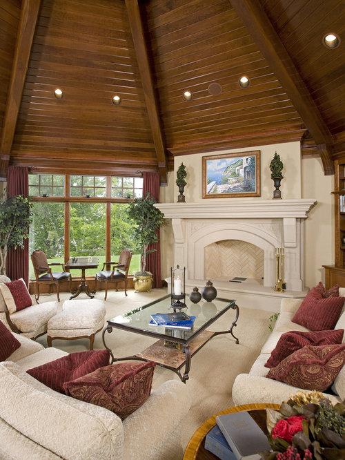 Octagonal Living Room Houzz