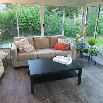 Porch Room with Mannington Vinyl