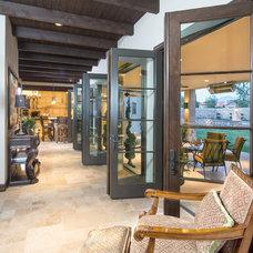 Mediterranean Porch by Cole Thomas Homes