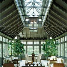 Traditional Sunroom by Saroki Architecture