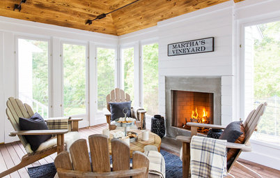 9 Cozy Sunrooms and Porches for Warming Up in Cold Weather