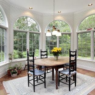 Sunroom - traditional sunroom idea in Austin