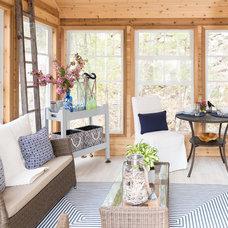 Beach Style Sunroom by Sonya Kinkade Design