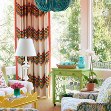 Traditional Sunroom by Holly Phillips @ The English Room
