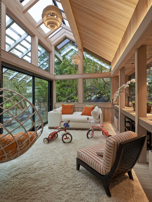 Large Contemporary Conservatory Design Ideas Renovations