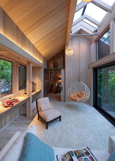 Contemporaneo Veranda by Richard Brown Architect AIA