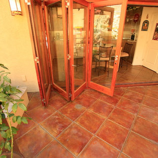Residential Interior Concrete Stain