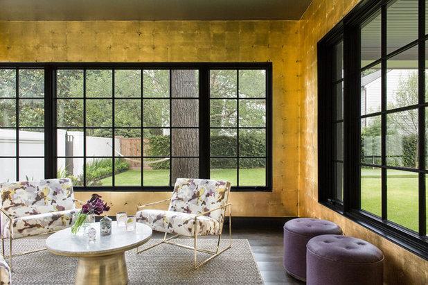 Modern Wintergarten by GREER Interior Design