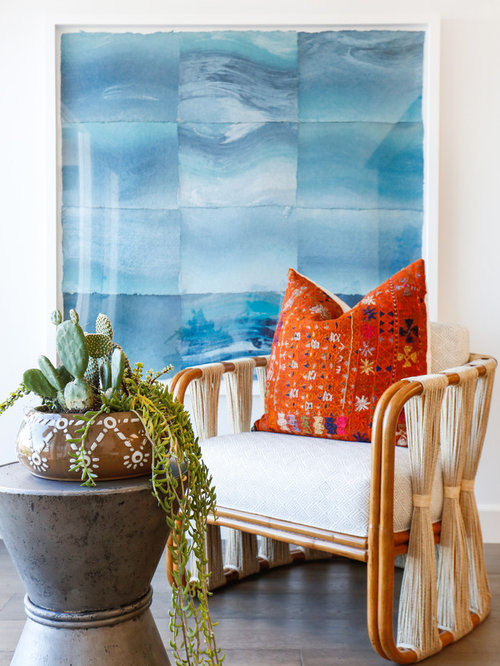 Beach Style Turquoise Sunroom Design Ideas amp Remodel Pictures Houzz