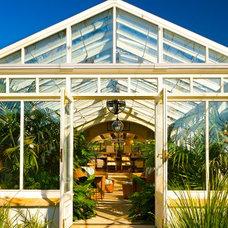 Mediterranean Porch by Sinclair Associates Architects
