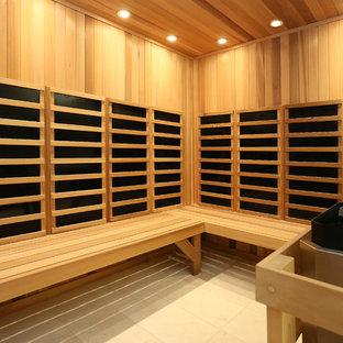 Sauna Cedar Custom Built  Seating