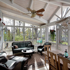 Traditional Sunroom by Architecturally Speaking