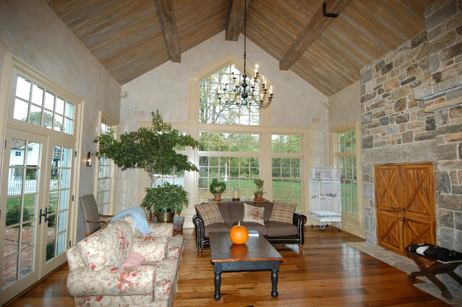 Sunroom with fireplace ideas for Sunroom with fireplace designs