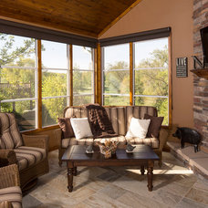 Traditional Sunroom by DURST & GANS BUILDING CORP