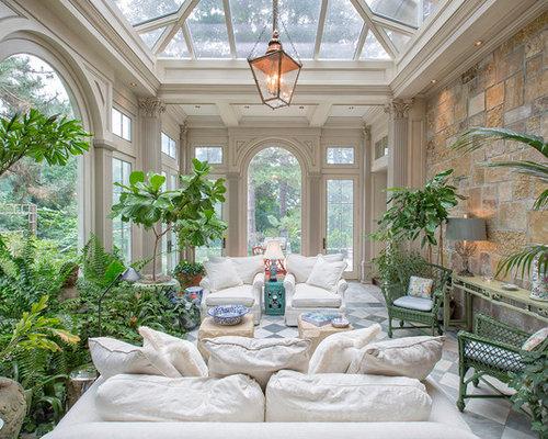 Foto e idee per verande ampia veranda for Idee di veranda laterale