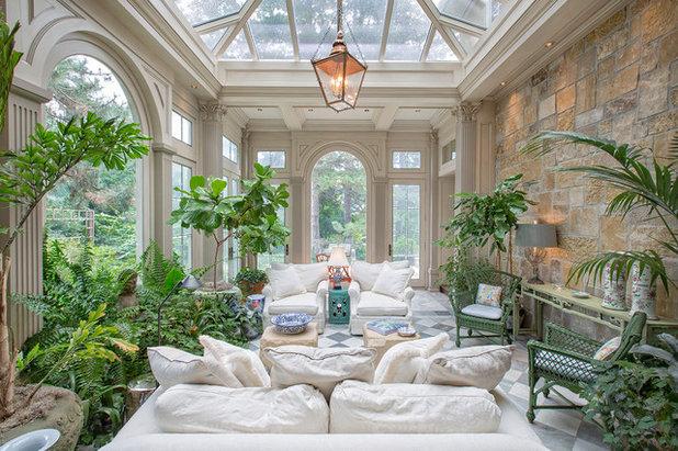 American Traditional Sunroom by SL Jensen Construction Inc.