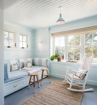 Beach Style Sunroom by Lisa Teague Design Studios