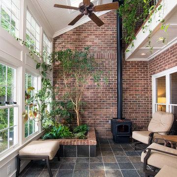 Solarium and Front Porch Addition