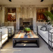 Mediterranean Sunroom by Ken Linsteadt Architects