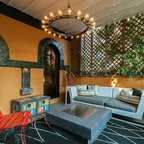 Tracey Stephens Interior Design Inc Eclectic Sunroom