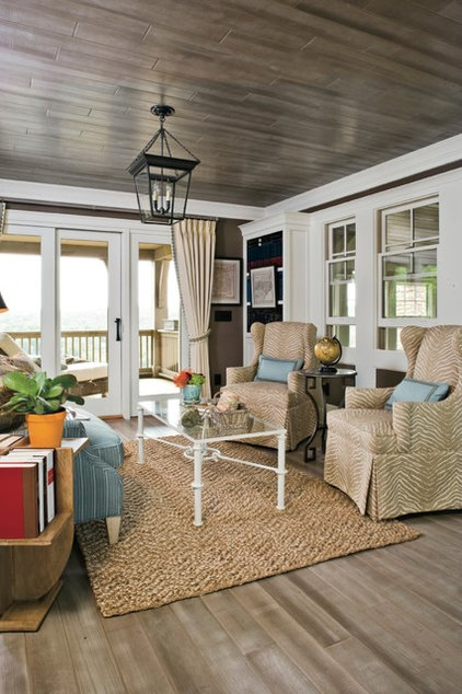 Beach Style Sunroom by Southern Living