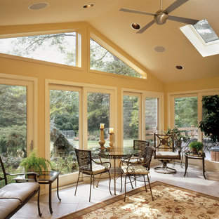Split Level Sun Room Addition