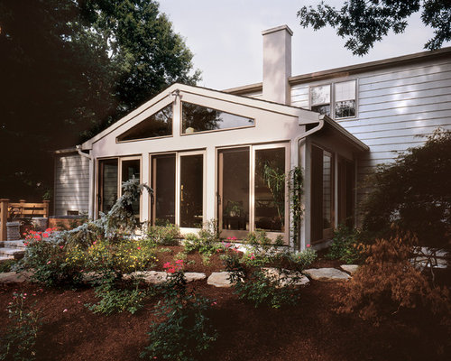Split level sun room addition for Split level additions