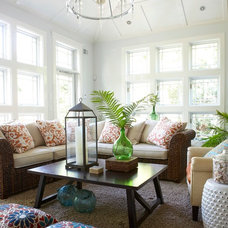 Beach Style Sunroom by threshold interiors