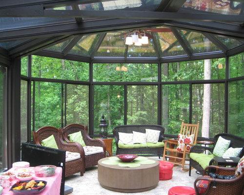 moderner wintergarten mit porzellan bodenfliesen bilder. Black Bedroom Furniture Sets. Home Design Ideas