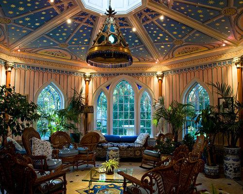 Gothic Revival Interior Design gothic revival showpiece sunroom