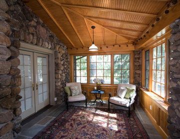 Stone House ---Enclosed Porch