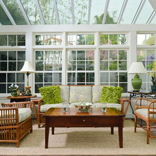 Traditional Sunroom by FGY Architects