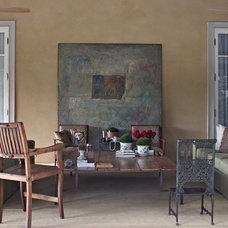 Contemporary Porch by Marcelo Brito & Pedro Potaris