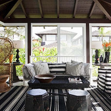 Contemporary Sunroom by Marcelo Brito & Pedro Potaris