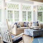 Brooklyn Brownstone Sunroom Eclectic Sunroom New