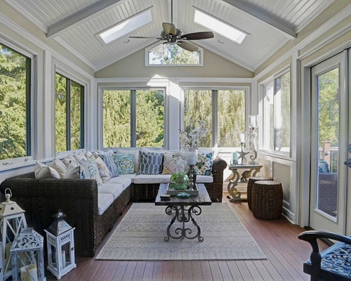 Sunroom design ideas remodels photos houzz for How to design a sunroom