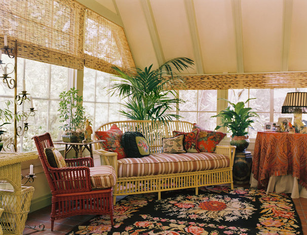 Traditional Sunroom by Adeeni Design Group