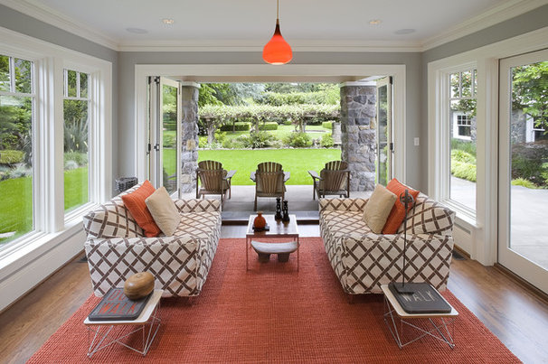 Contemporary Sunroom by Emerick Architects