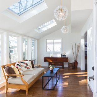 Sun room with Sun Burst Pendants